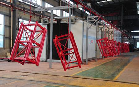 Best-selling double cages construction hoist