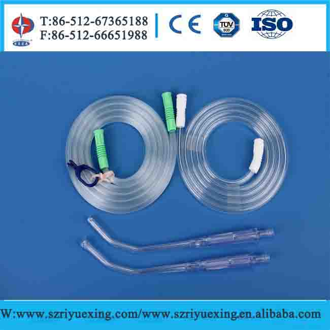 Disposable suction connecting tube