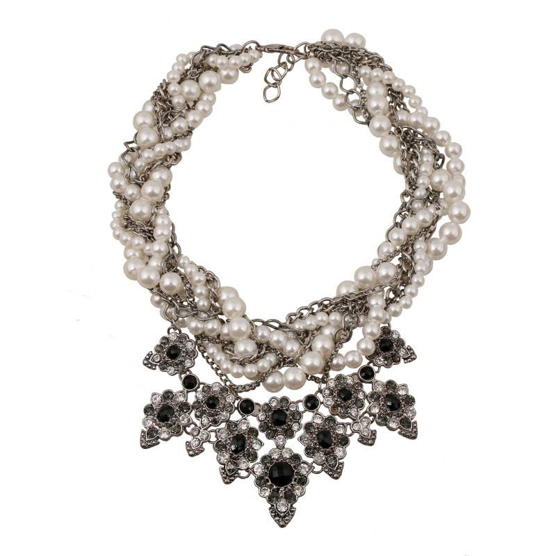 Factory Direct Sales Fashion Necklace Pearl Necklace, Statement Necklace