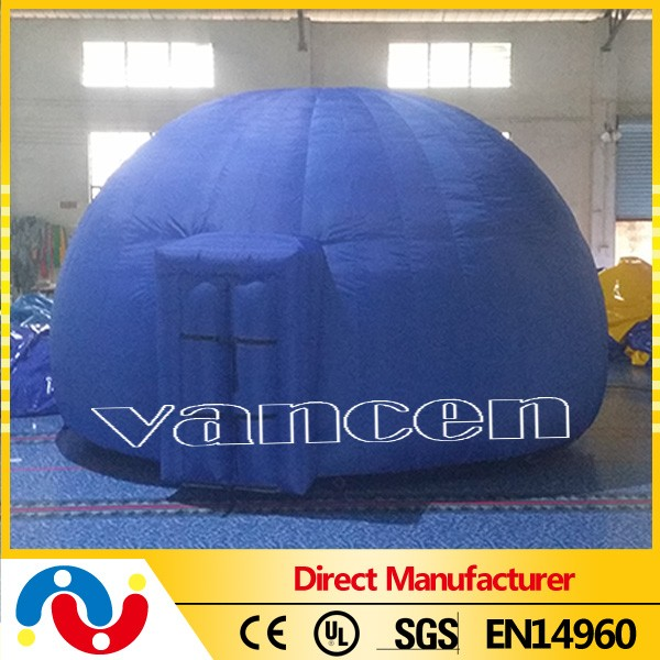 portable 5m inflatable projection dome tent for sale