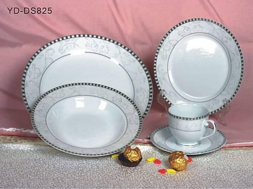 porcelain golden plate
