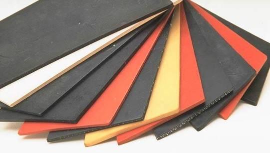 Nylon Cloth Insertion Rubber Sheet