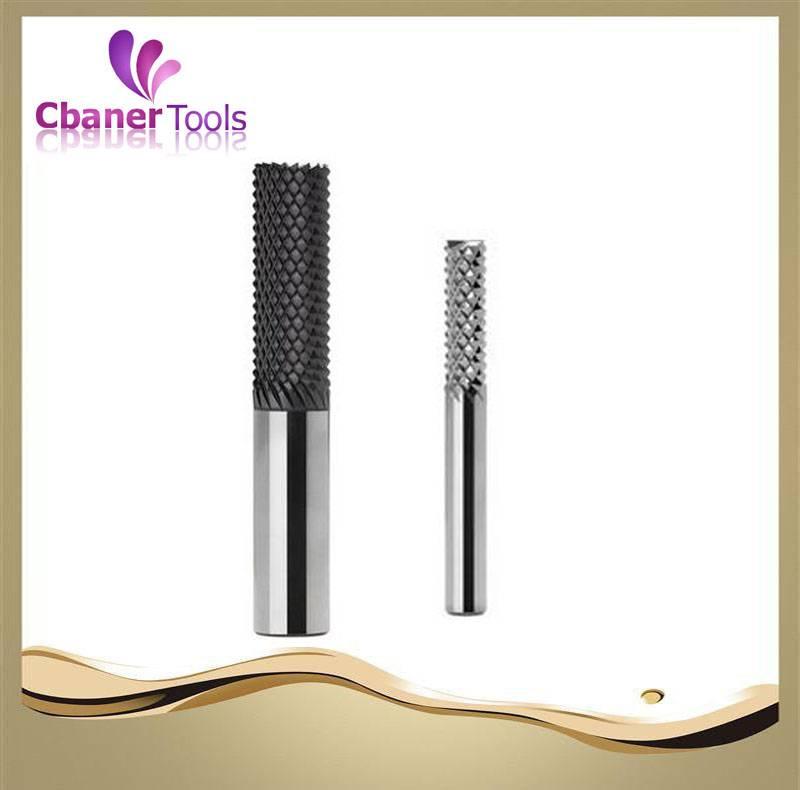 High precision carbide router bits for glass fiber
