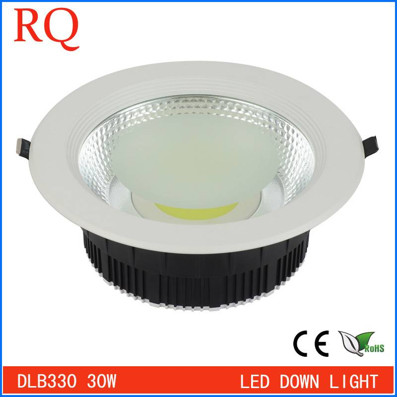 Hot sale high quality led downlight wholesale price 30w cob led downlight