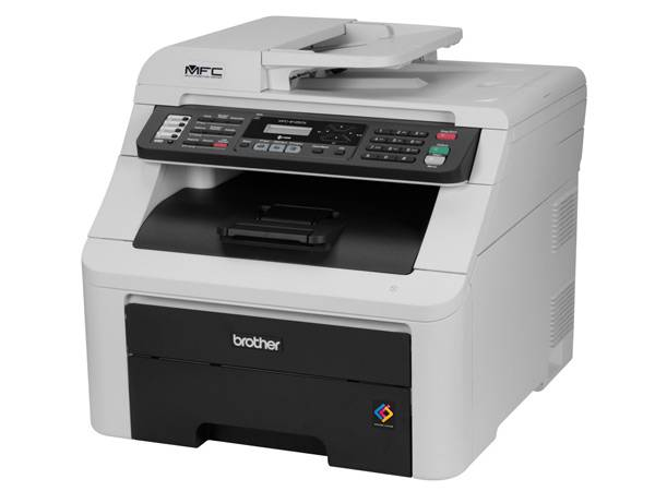 Brother MFC-9125CN Color Laser Digital Color All-in-One Printer With Networking