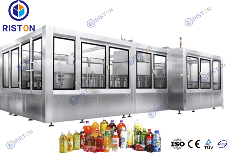 Carbonated beverage filling machine made in China