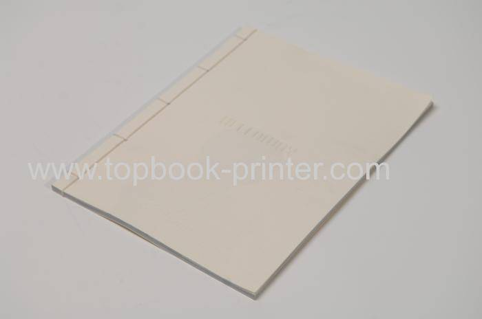 Excellent 250gsm matte lamination embossed paper cover soft book printing