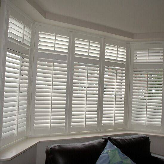plantation timber louver shutters