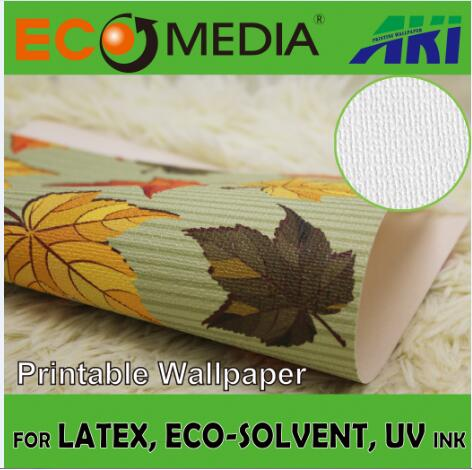 AKI 029 Canvas Texture Chinese design printable wallpaper