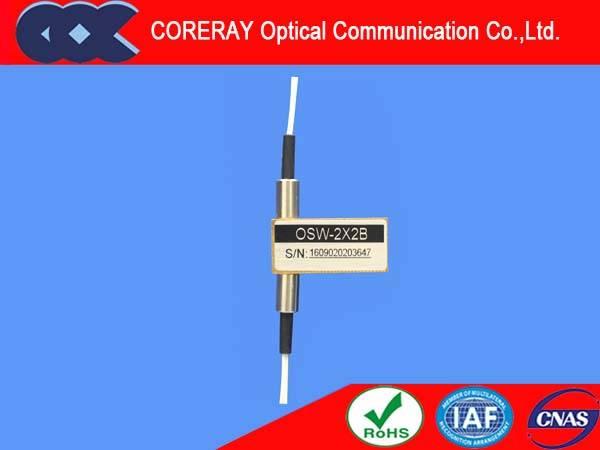 Single Mode 2x2B optical switch