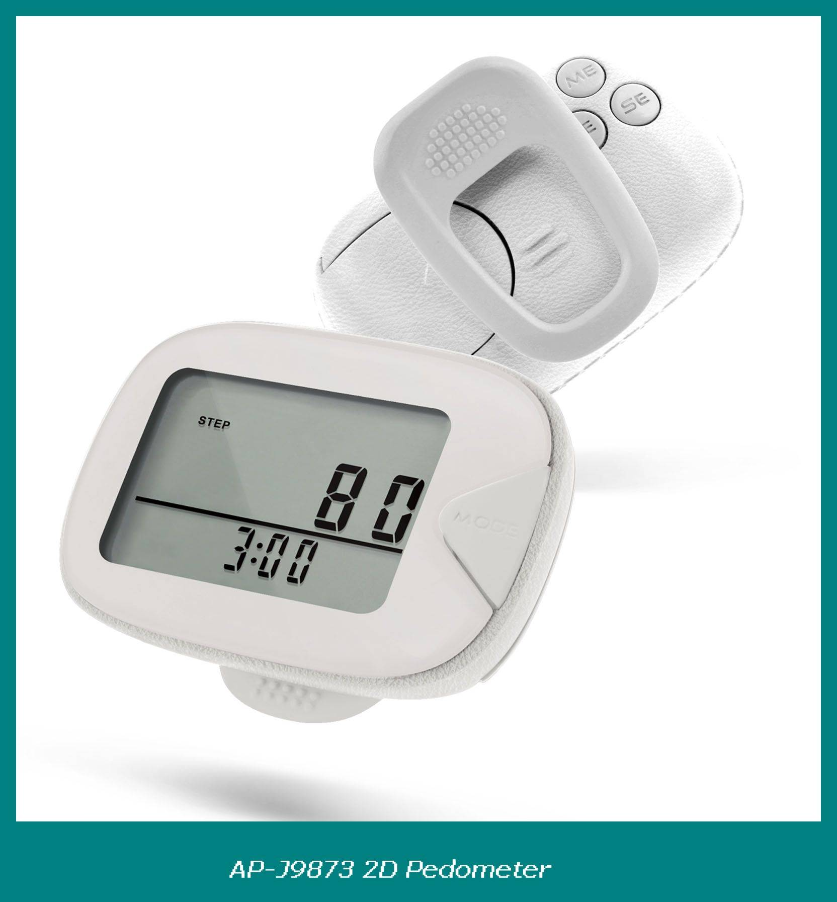 CE&ROHS approved fitness pedometer