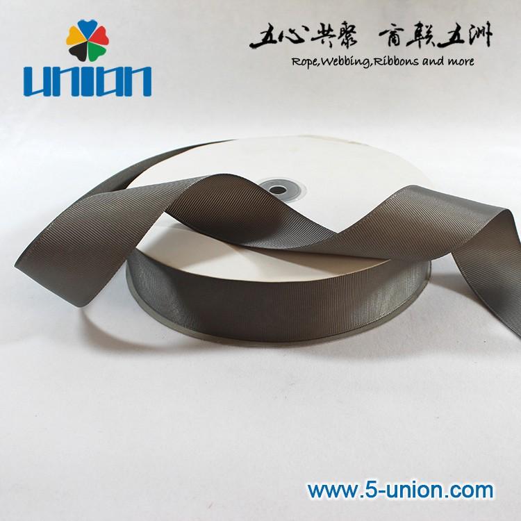 "High Searche good Quality 1-1/4""(32mm) griseous grosgrain ribbon"