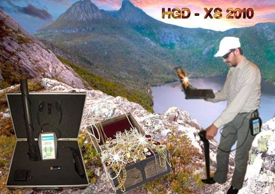 HGD - XS 2010- GPR SYSTEM FOR METAL DETECTION AND CAVES