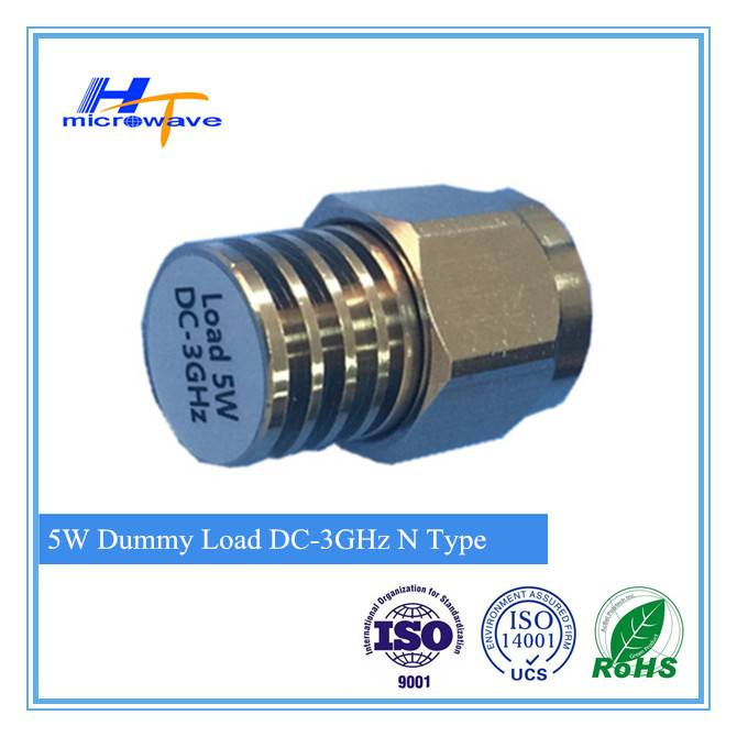 RF Coaxial Fixed Dummy Load/Termination/terminators 5W,N-male,N-female type DC-3GHz