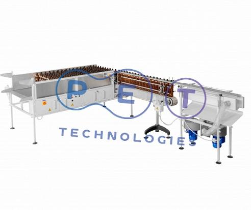 Equipment to pack empty PET bottles in plastic bags BPM-3000