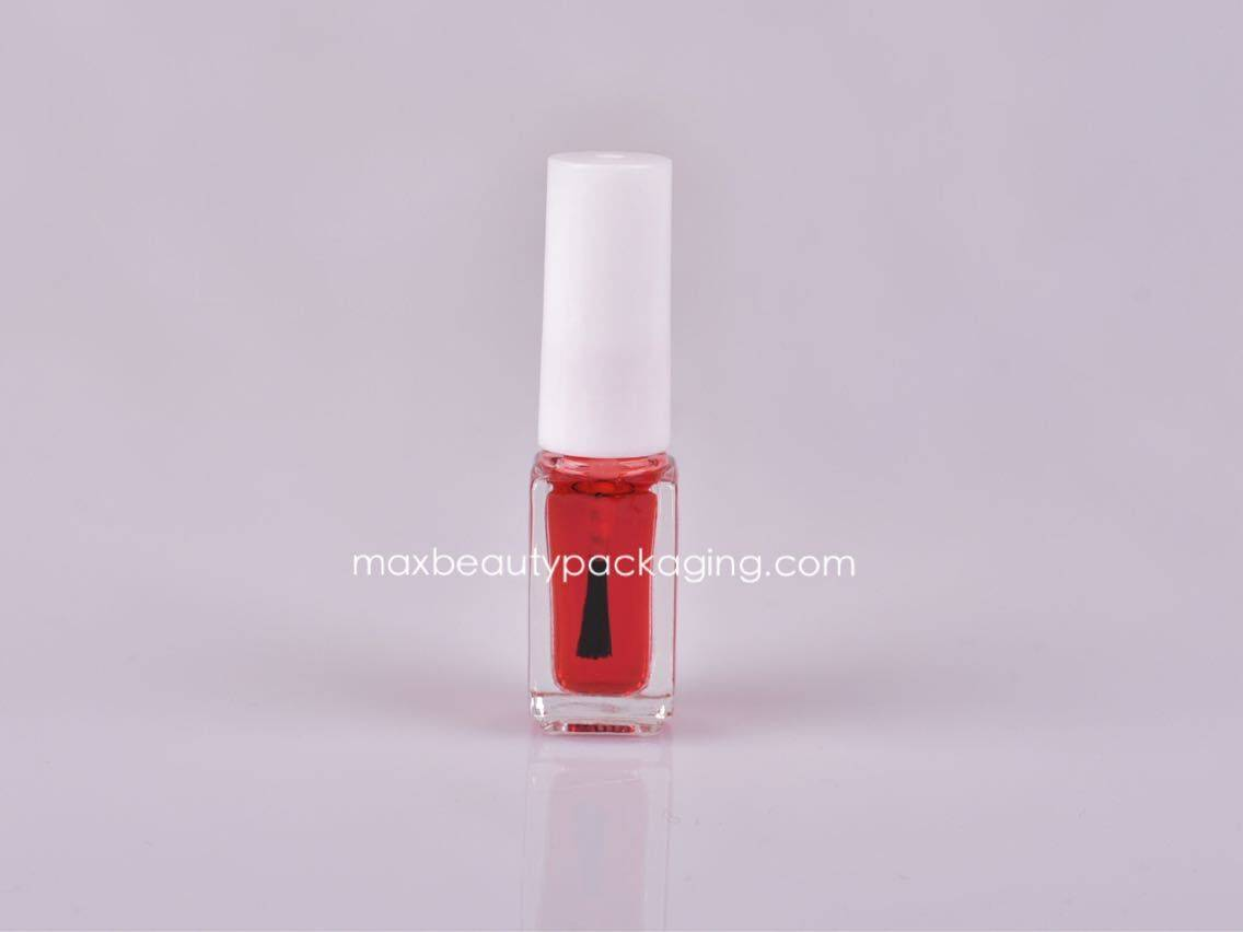 NP001 Nail Polish bottle nail polish cap with brush small bottle 5ml nail polish packaging