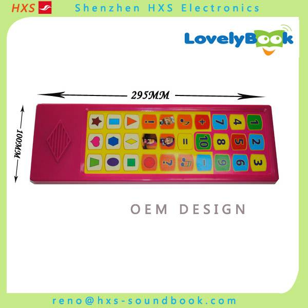 Customized 30-Buttons Sound Module For Books/Voice Box For Children Books