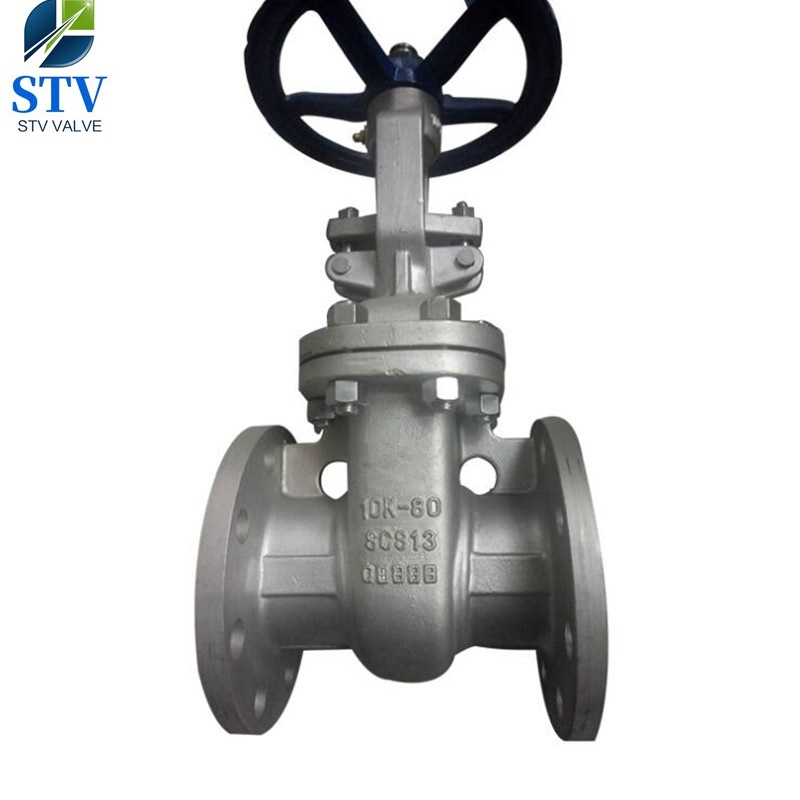 Stainless Steel Flange Gate Valve,CF8 Body and 304 Trim,150LB,3 Inch