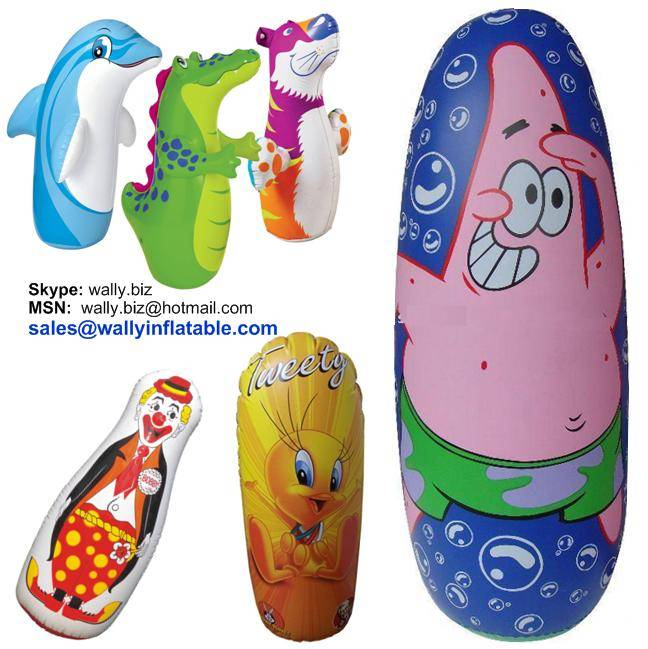 Inflatable Bop Bag Toy For Kids Tumbler