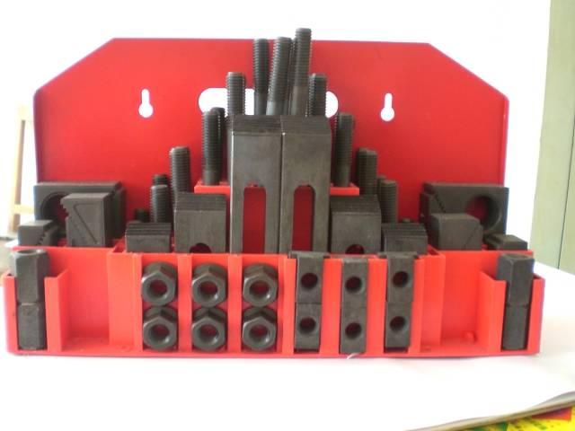 M12 52 Piece Metric Clamping Kits