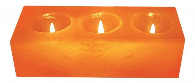 WBM-3054 Natural Air Purifying Salt Candle Holder