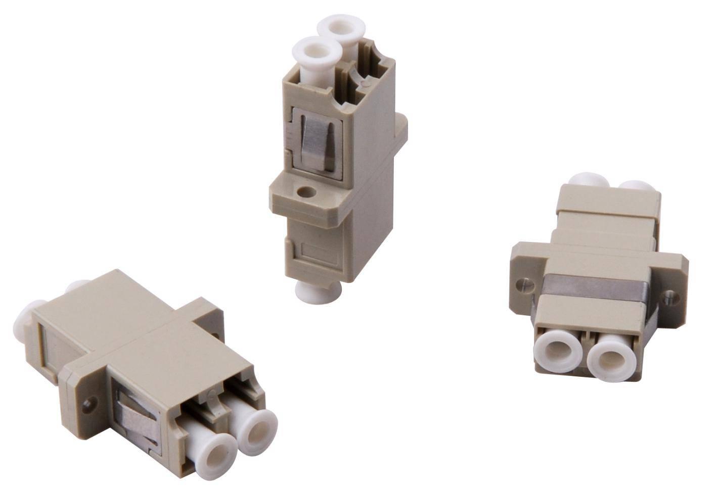 Fiber optic adapter LC/PC DX