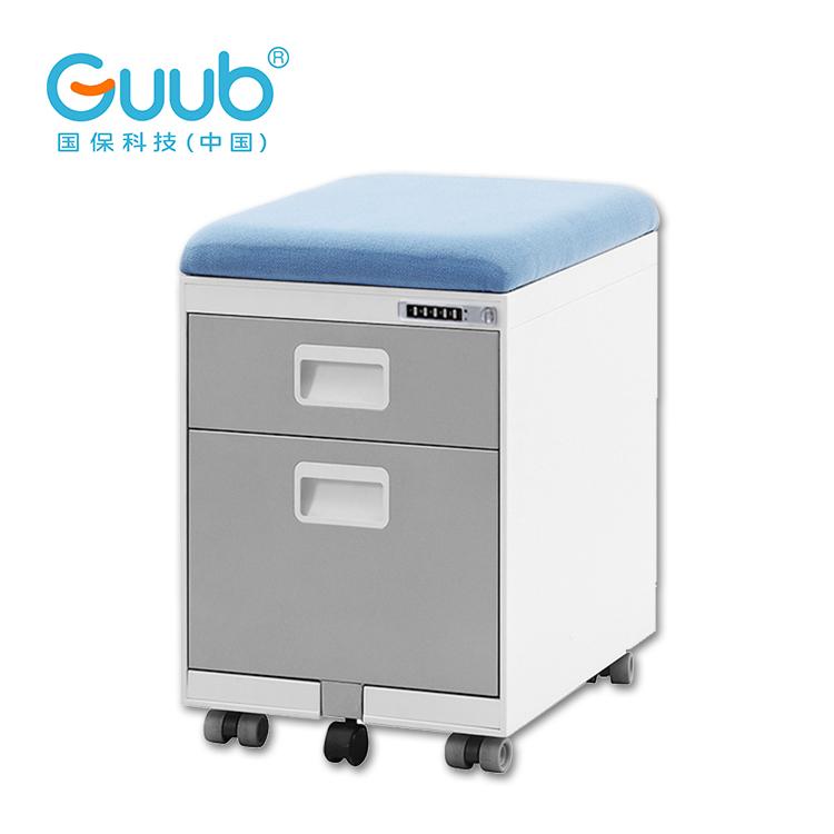Intelligent lock cabinet office furniture office 3 drawer mobile pedestal