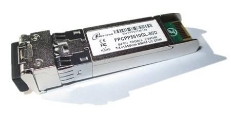 10Gbps CWDM SFP+ (SFP Plus) Optical transceiver module,80Km Reach