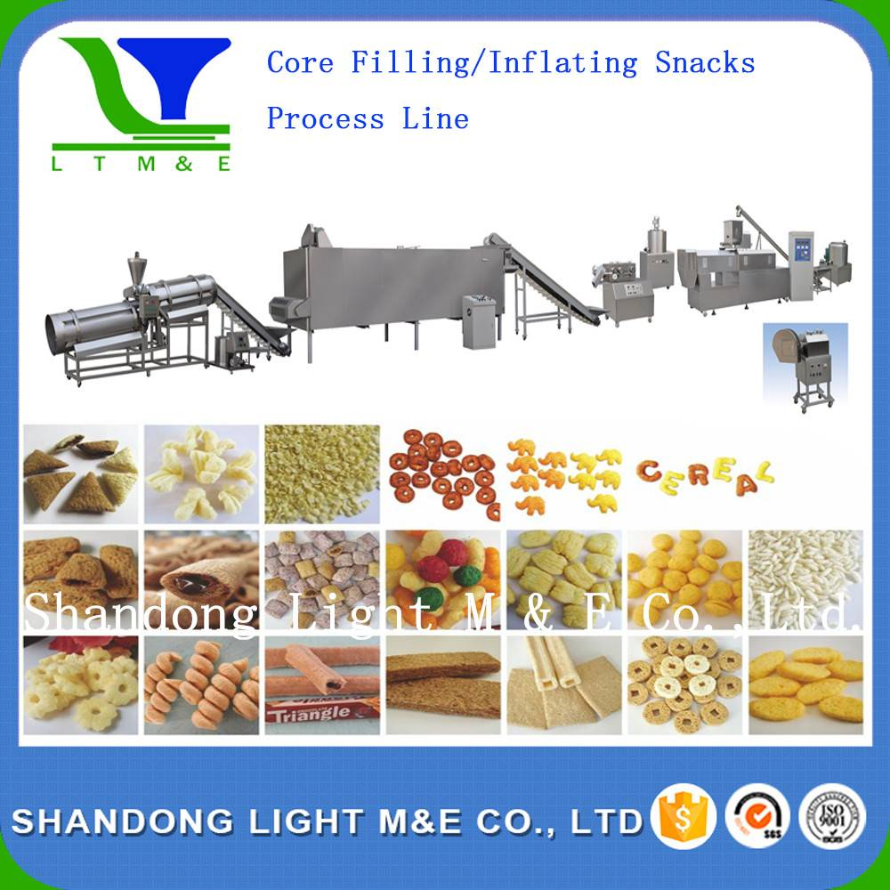Inflating Snacks Process Line/Inflating Snacks Making Machine