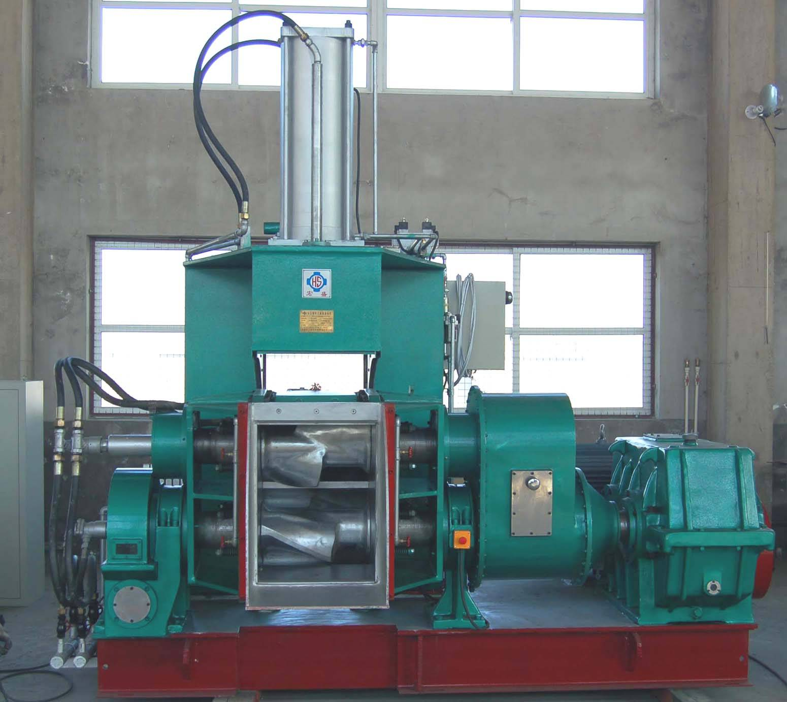 rubber dispersion kneading machine