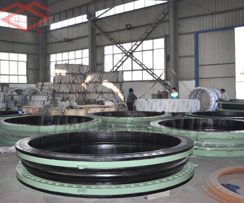 single-sphere floating flange rubber expansion joints
