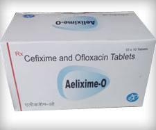 CEFIXIME 200MG + OFLOXACIN 200 MG TABLET