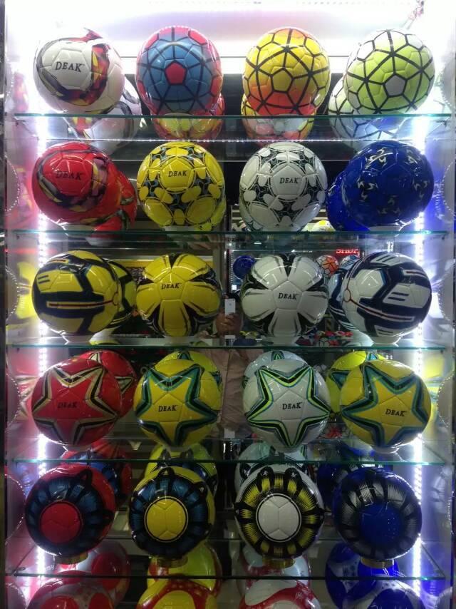 PVC match club balls soccer