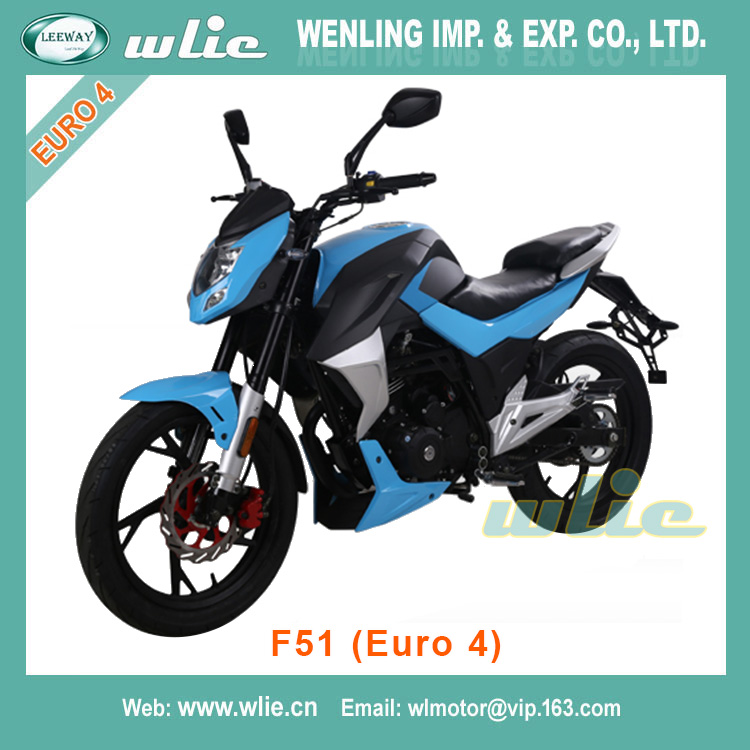 With Euro 4 EEC EFI system 50cc/125cc racing motorcycle F51 (Euro 4)