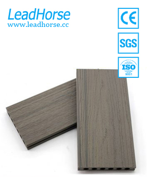 Hollow Co-extrusion WPC Outdoor Decking Floor