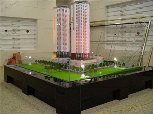 Residential building model maker , led light scale architectural model