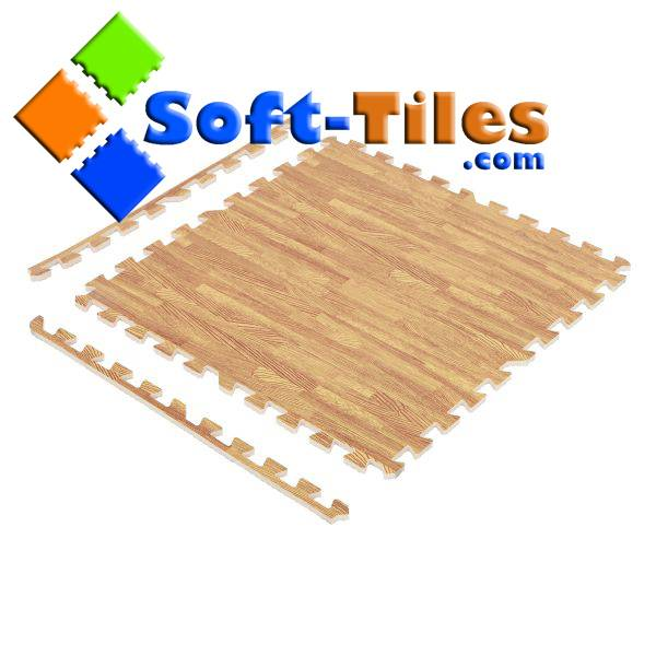 Wood Effect Flooring Set 6pcs/set