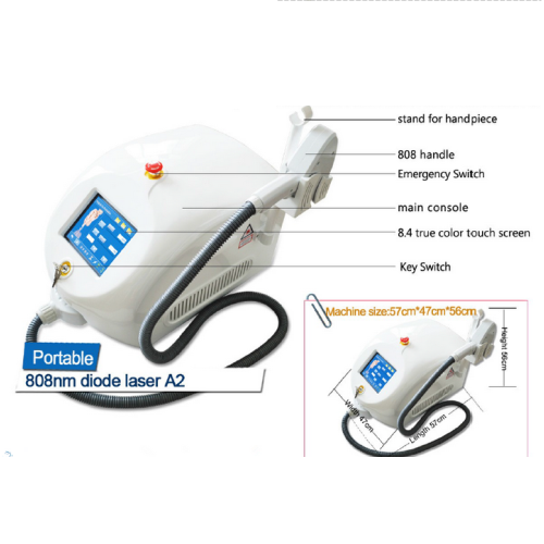 Portable and professional laser hair removal machine