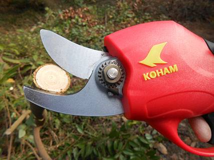 Electric garden scissor/ Pruning shears KH-MA