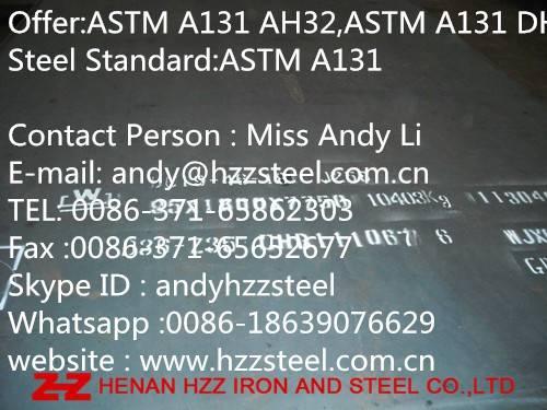 ASTM A131 AH32,ASTM A131 DH32,ASTM A131 EH32,ASTM A131 FH32,Steel Plate,Shipbuilding Steel Sheet.