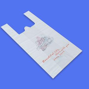 Biodegradable Organ Shopping Bag/Side Gusset bag/T-shirt bag/plastic bag