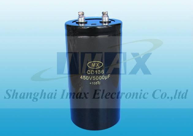 CD136 2000 Hours 105C Screw aluminum electrolytic capacitor