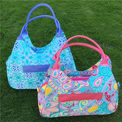 Monogramable Canvas Women Large Paisley Tote