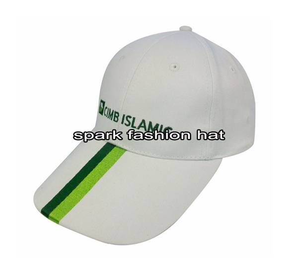 Custom 100% cotton 6 panel promotional cap