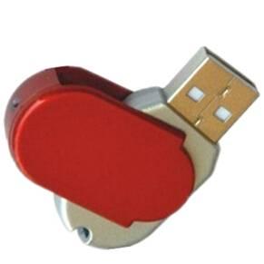 Plastic Swivel USB memory
