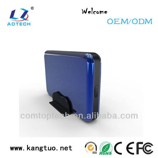 USB 3.5 SATA external hard disk drive 4tb enclosure