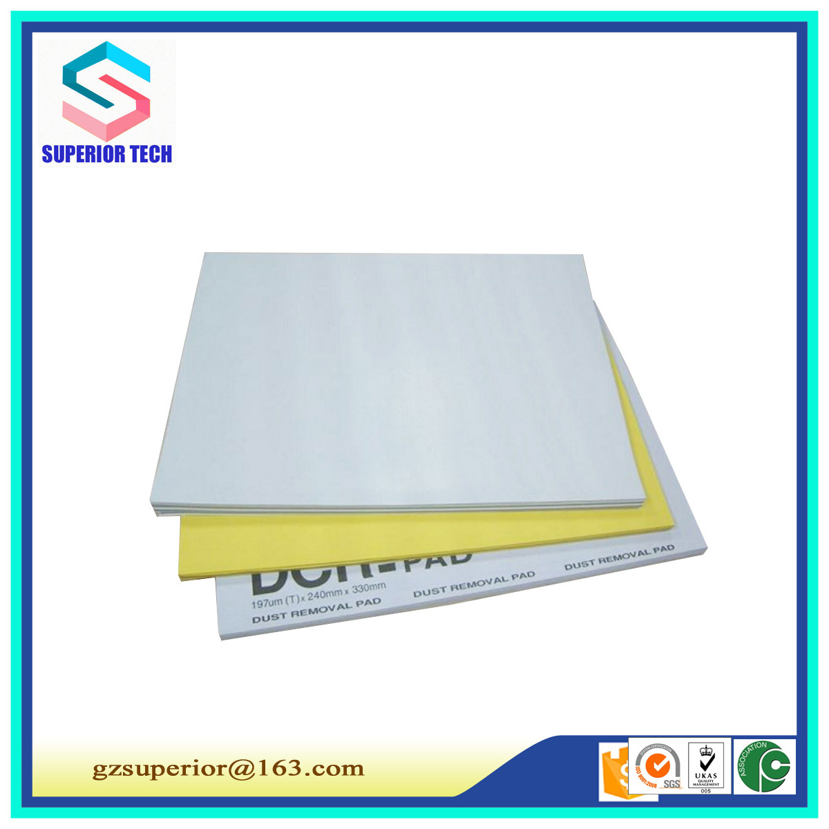 Dust cleaning paper/dust sticky pad