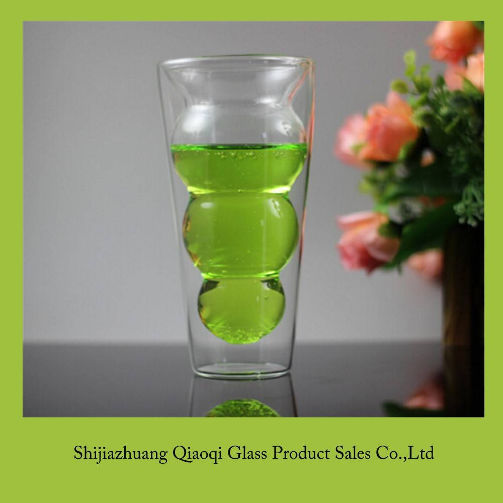 Hot selling ECO double wall glass Tumblers