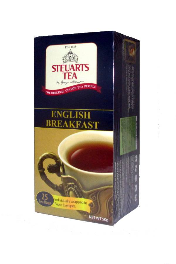 Steuarts English Breakfast 25 Tea Bags