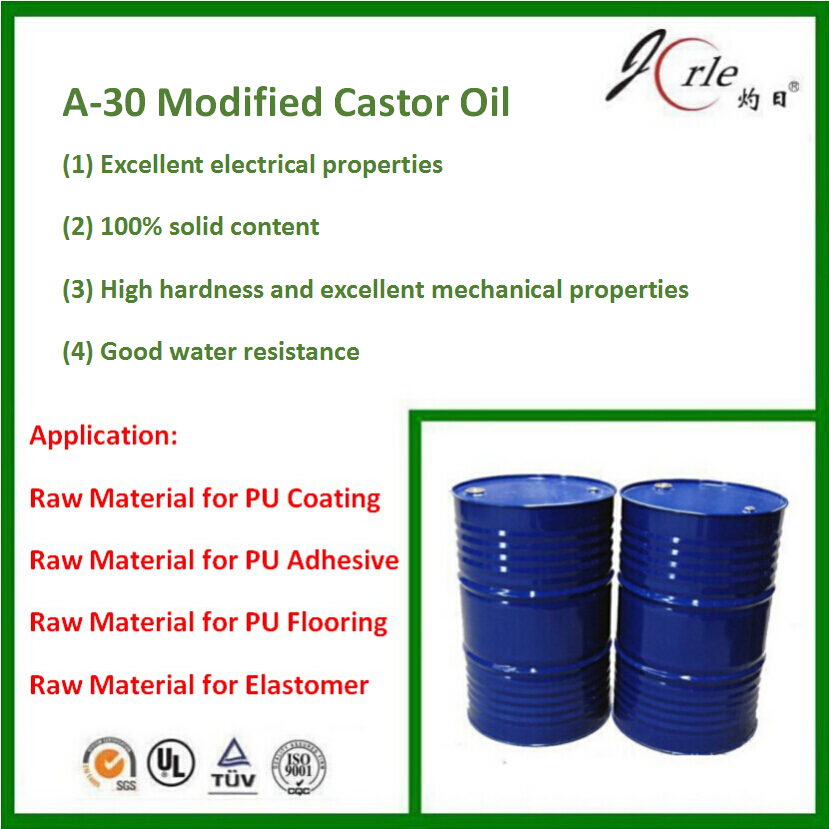 A-30 castor oil modified polyol for mortar flooring